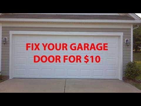 Fix Garage Door Poppingbanging For 10 Youtube