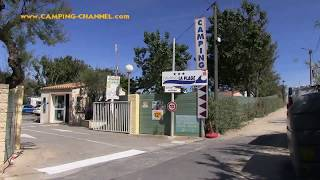 Camping La Plage in Marseillan-Plage, Languedoc-Roussillon (Frankreich) Mai 2017