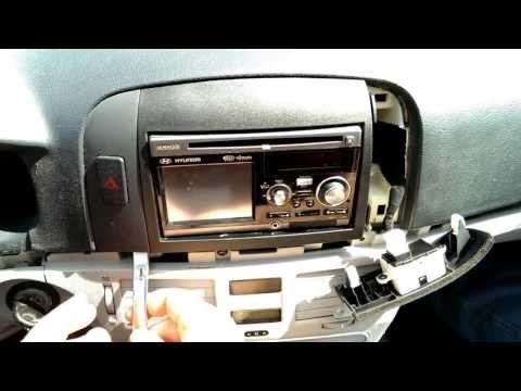 Replacing Radio in 2007 Hyundai Sonata  Part 1