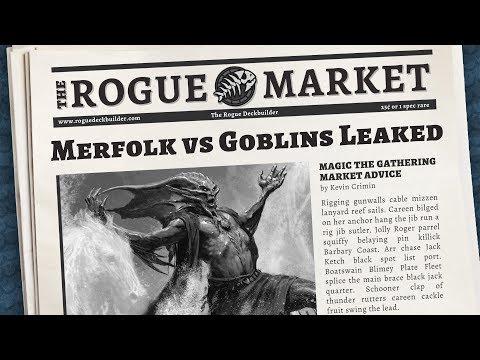 Market Monday: Duel Decks Merfolk vs Goblins accidently spoiled | MTG Finance