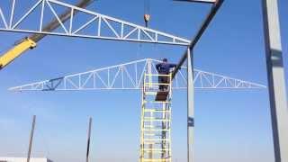 Монтаж фермы 20 метров Баиндуроff(, 2014-03-24T19:05:57.000Z)