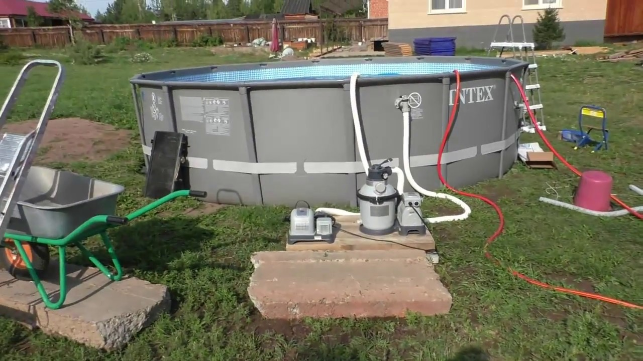 Подогрев бассейна электрокотлом и другие способы.