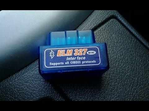 Сканер  OBD2 ELM 327. Диагностика Тойота Королла Е150/скидываем ошибки.