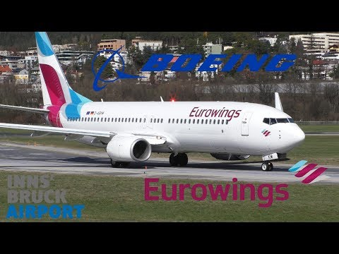 Eurowings 738 At Innsbruck Airport D-ABKM
