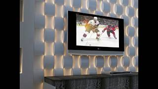 TV Wall Units With Led