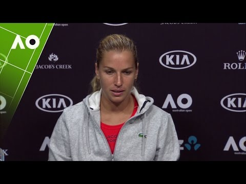 Dominika Cibulkova press conference (3R) | Australian Open 2017