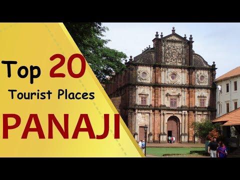 PANAJI Top 20 Tourist Places | Panaji Tourism
