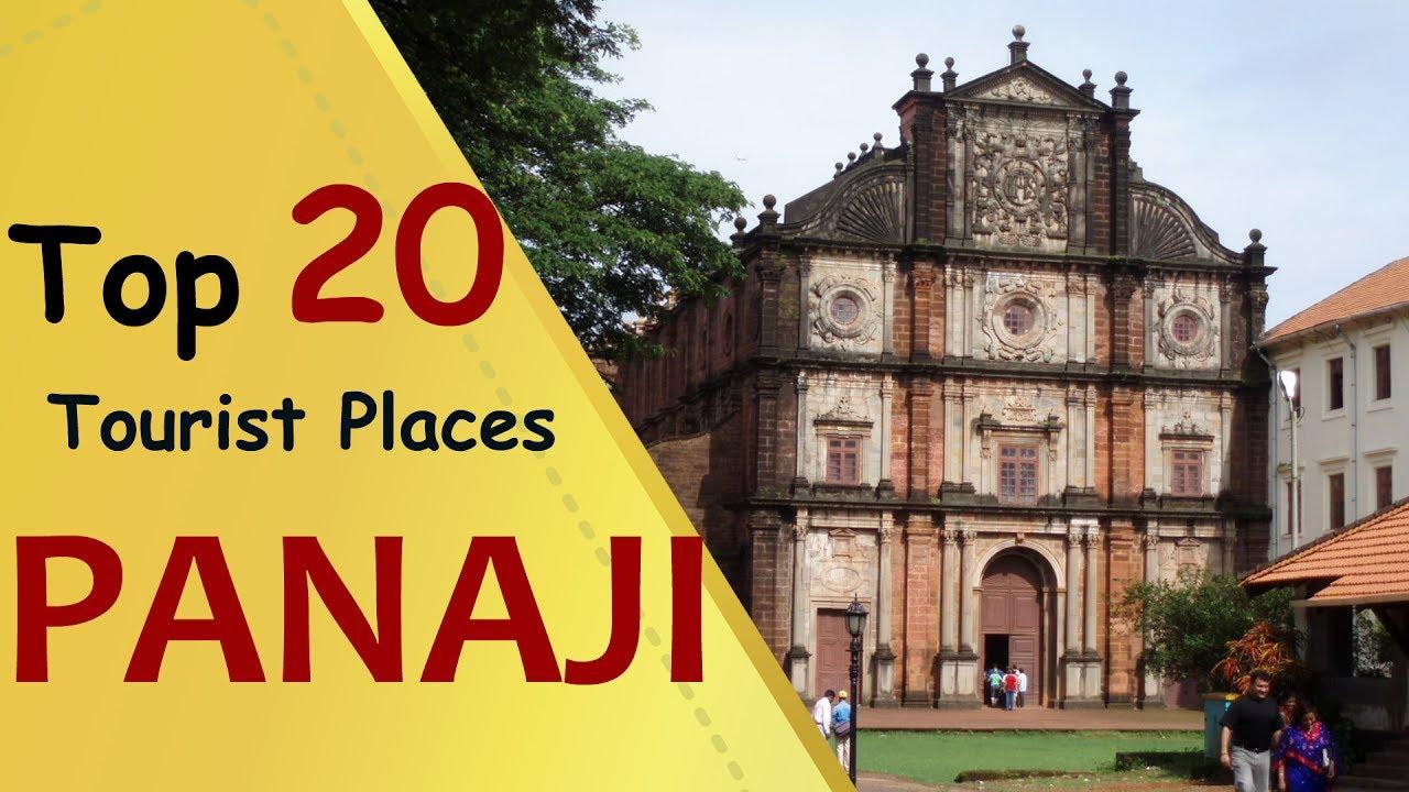 PANAJI Top 20 Tourist Places  Panaji Tourism  YouTube
