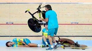 TOP Cycle Crash in Olympics 2016  Women's Cycling Rio 2016
