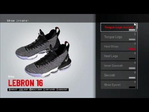 Oreo Lebron 16 for NBA 2K19 - YouTube