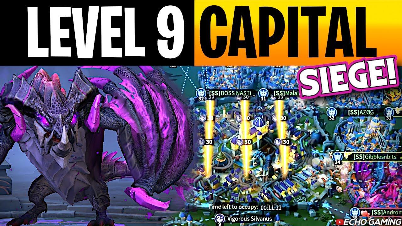 Infinity Kingdom First Ever Level 9 Capital Takedown