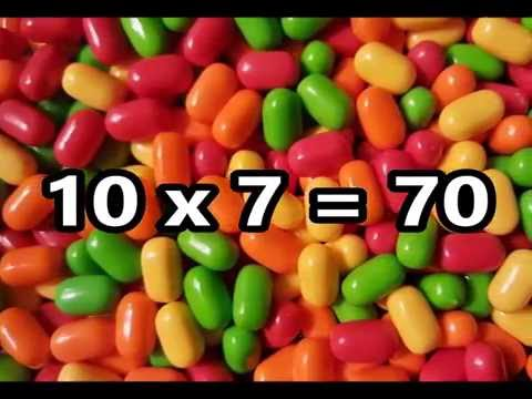 The 10 Times Table Song (Multiplying by 10) | Silly School Songs
