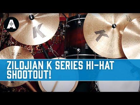 Zildjian K Series Hi-Hat Shootout - Can You Hear the Difference?