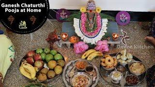 Eco friendly Ganesha || pooja on Ganesha chaturthi || pooja vidhanam || Devee kitchen