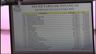 AUDIÊNCIA PÚBLICA ORÇAMENTO DO MUNICÍPIO 2019