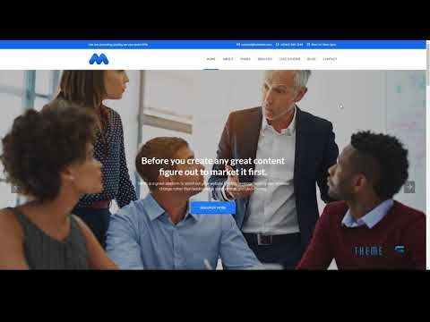 Mania Business Consulting and Financial Services HTML Template