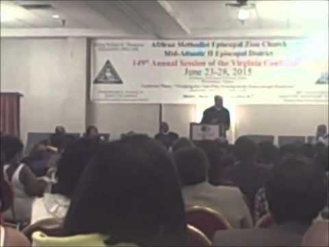 Simon Temple At 149thVa Annual Conference (2015)
