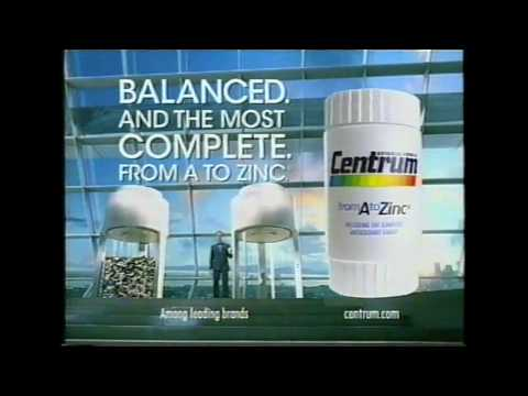 Centrum A to Zinc commercial (2006)
