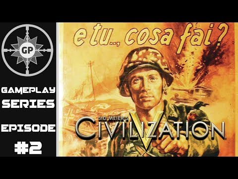 The Great German Blunder - Civilization V R.E.D. WWII Edition Revived Italy Series #2