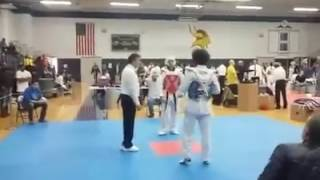 Che Ko Tae Kwon Do Black Belt Knock Out Great Lakes Cup Michigan 2016