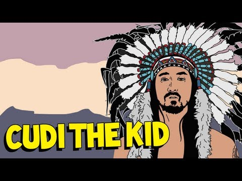Cudi The Kid ft Kid Cudi & Travis Barker  Steve Aoki AUDIO