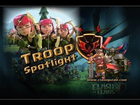 Clash of Clans Troop Spotlight - The Archer!