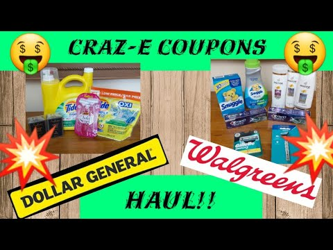 💥Dollar General & Walgreens Couponing💥GLITCHES & MONEY MAKERS!!💥