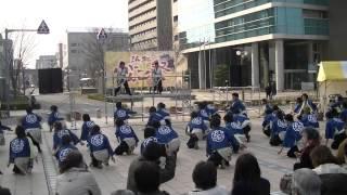 福井大学よっしゃこい2013年度演舞「夢光咲」 むこうへ 浜松がんこ祭り...