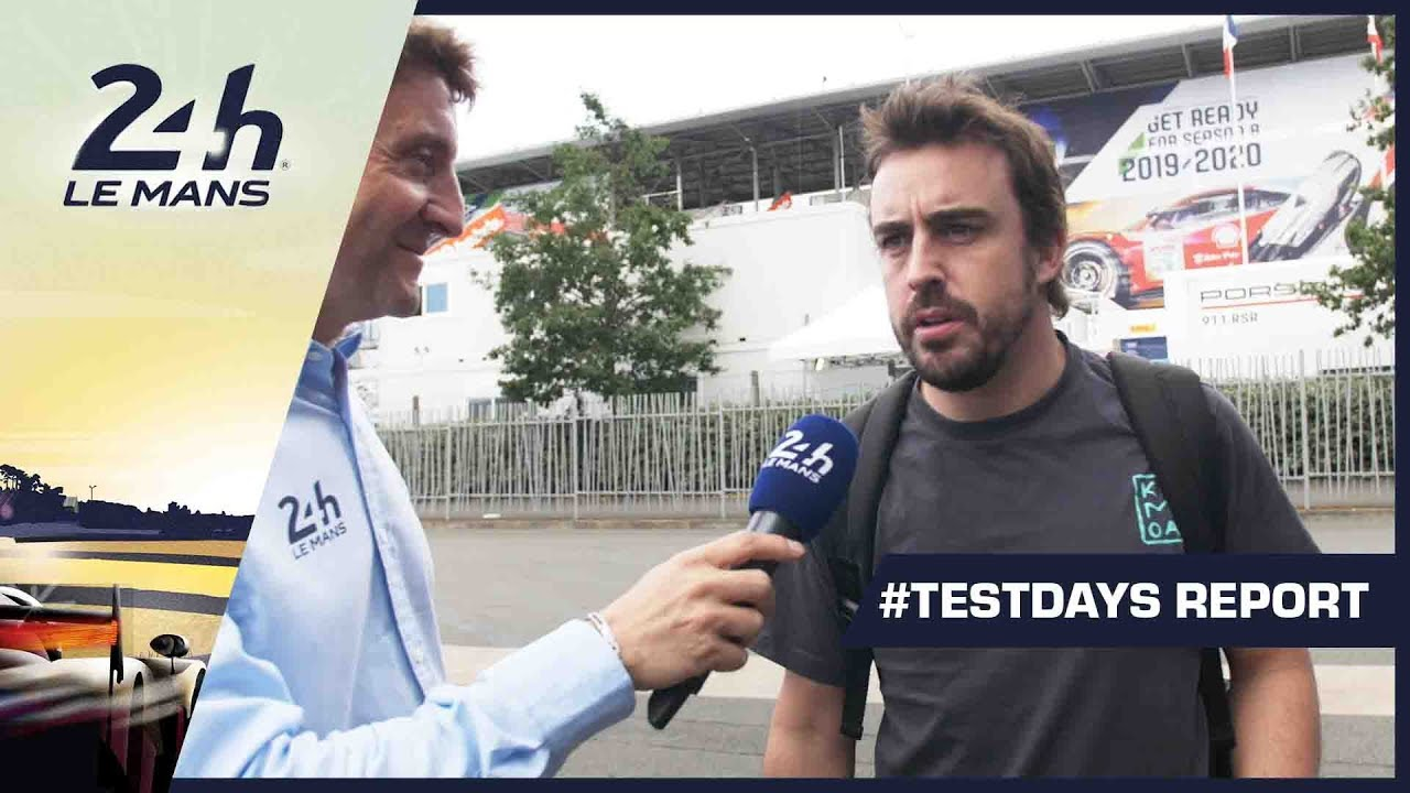 Testday Report - 24 Heures du Mans 2019 - 24 Heures du Mans