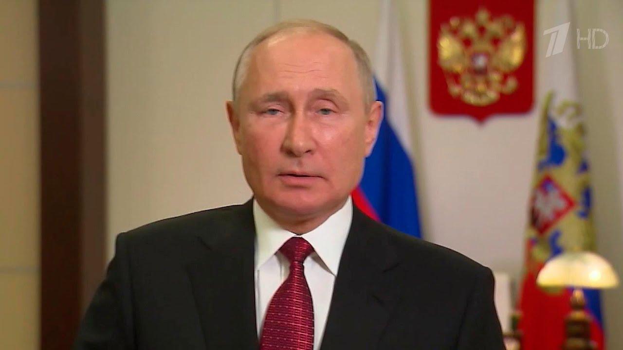 В преддверии выборов Владимир Путин обратился ко всем россиянам