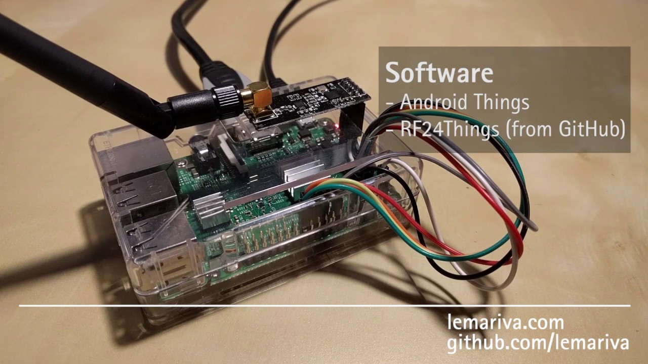 ProjectDIVA: Sensor mesh based on nrf24l01+ connected to