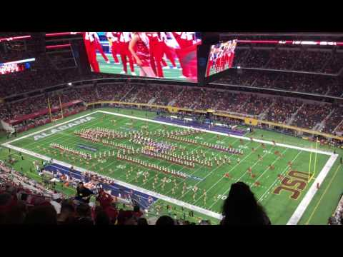 Alabama v USC - Million Dollar Band Halftime Show