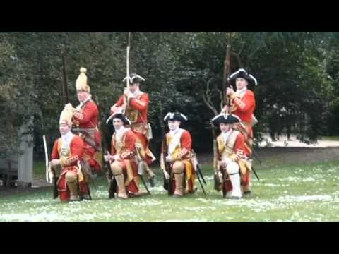 18th century Jacobite v British Army - Claremont Park, Surrey