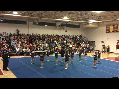 Nandua High School Cheer Competition They Win First Place