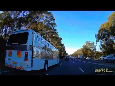 Full Realtime Driving: Parramatta - Sydney International Airport Parking