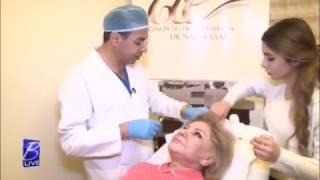وبعد ١٠ سنوات من إجراء عملية شد الوجه، غادة تطل مجددا في مقابلة مع الدكتور نادر صعب