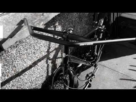 Bikepacking Project Bike Part 2 - Fitting On One Geoff Bars