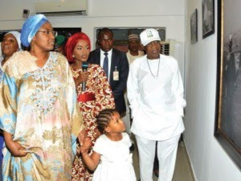 President Buhari's Daughter, Hanan Displays Her ART WORKS (Vangi) In Abuja