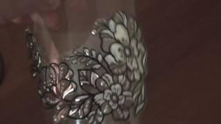Декор зеркала камушками из Фикс Прайса.Клеим,красим,украшаем.
