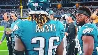 Eagles/Cowboys - Eagles Mic'd Up/Team clowns Jay Ajayi - neetrab