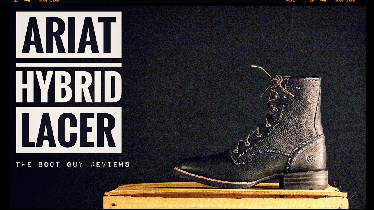 0c6c270c7bb ARIAT Hybrid Lacer Wide Square Toe [ The Boot Guy Reviews ]