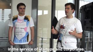 LEANHEROES pitching at STARTPLATZ