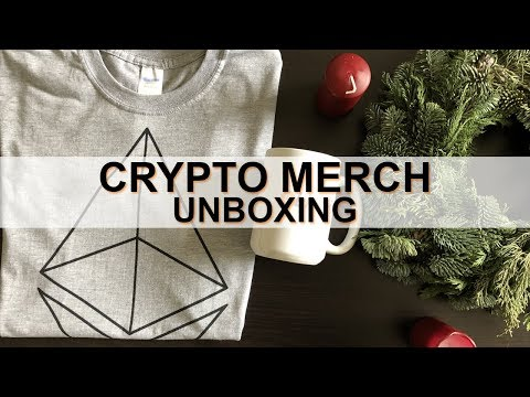 THE CRYPTO MERCH UNBOXING