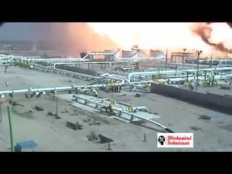 Pipeline Explosion in Gas Field