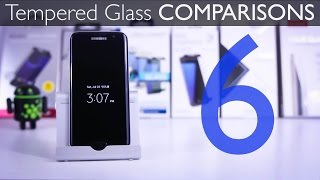 6 Tempered Glass Screen Protectors for Samsung Galaxy S7 Edge - Part I