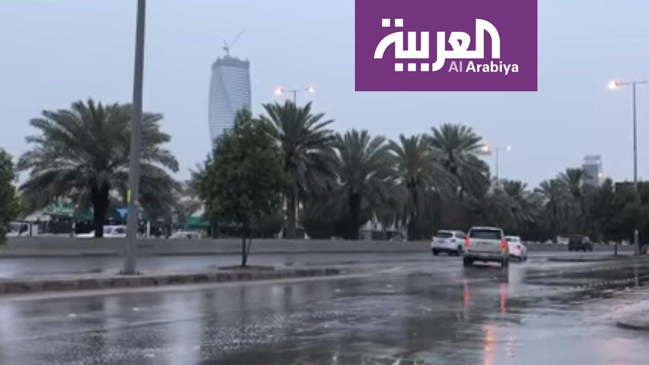 الأرصاد الجوية تتوقع أن يستمر هطول الأمطار حتى نهاية الأسبوع