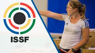Finals 10m Air Pistol Women - ISSF World Championship in all events 2014, Granada (ESP