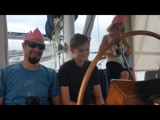 How our sailing family spent the holidays in Golfito Costa Rica in 2019 ~Life off the deep end Ep 31