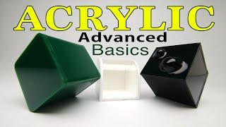 Acrylic Advanced Basics moḋel making for Designers, Architects & Makers