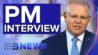 Scott Morrison on Family Law inquiry, Middle East crisis & Trump visit | Nine News Australia